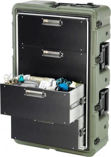 Peli Products, Inc. Medchest 34D2 - Peli Products, Inc. Lékařský odolný kufr Medchest 34D2