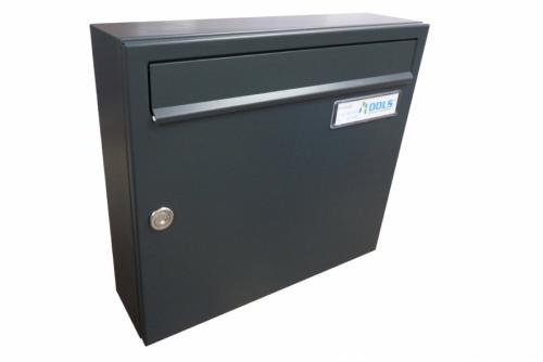 DOLS Poštovní schránka A-01 - RAL 7016 antracit - DOLS Poštovní schránka A-01 RAL 7016 antracit