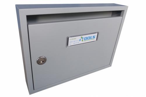 DOLS Poštovní schránka E-01 N - RAL 7040 šedá - DOLS Poštovní schránka E-01 N RAL 7040 šedá
