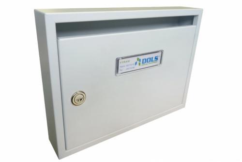 DOLS Poštovní schránka E-01 N - RAL 9016 bílá - DOLS Poštovní schránka E-01 N RAL 9016 bílá