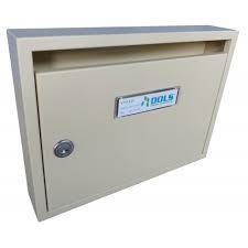 DOLS Poštovní schránka E-01 - RAL 1014 béžová - DOLS Poštovní schránka E-01 RAL 1014 béžová