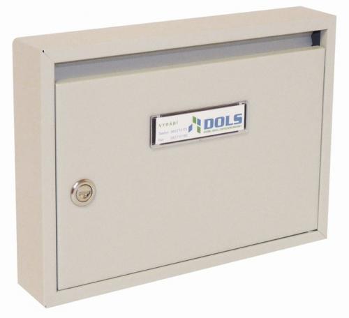 DOLS Poštovní schránka E-01 - RAL 7035 světle šedá - DOLS Poštovní schránka E-01 RAL 7035 světle šedá