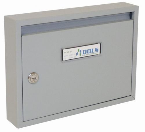 DOLS Poštovní schránka E-01 - RAL 7040 šedá - DOLS Poštovní schránka E-01 RAL 7040 šedá