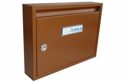 DOLS Poštovní schránka E-01 - RAL 8003 hnědá - DOLS Poštovní schránka E-01 RAL 8003 hnědá