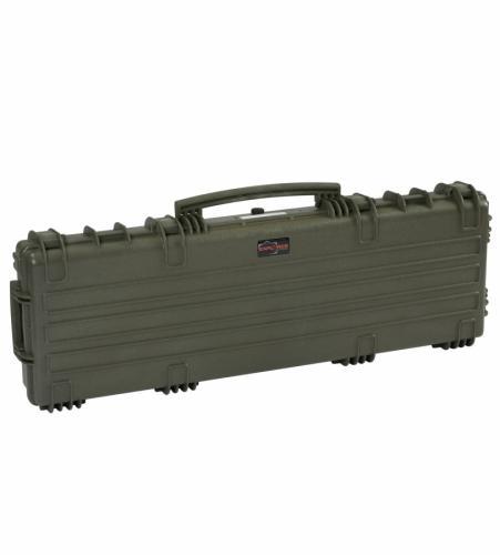 Explorer Cases Odolný vodotěsný kufr 11413 na zbraň, zelený s pěnou - Explorer Cases Odolný v