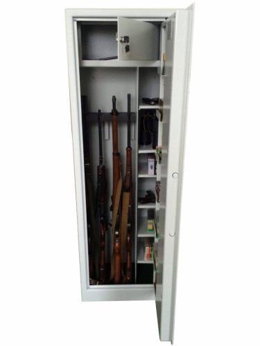 Justra Kombinovaná skříň na čtyři zbraně ZJ 7 VARIANT, tmavě šedá - Justra Kombinovaná skříň na čtyři zbraně ZJ 7 VARIANT, tmavě šedá