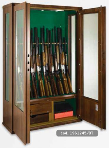 Metalk Luxusní skříň na devatenáct zbraní Dragone - Metalk Luxusní skříň na devatenáct zbraní Dragone, wood line