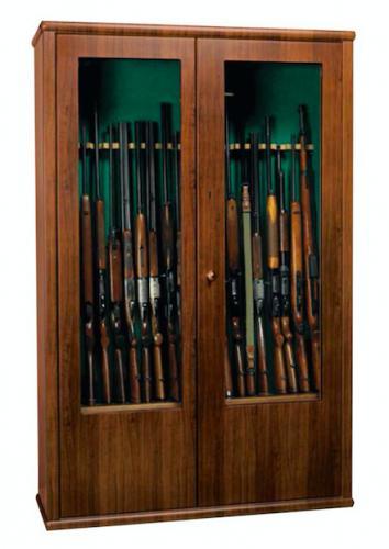 Metalk Luxusní skříň na dvacet zbraní Dragone - Metalk Luxusní skříň na dvacet zbraní Dragone, wood line