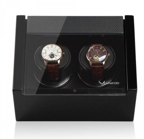 Modalo Natahovač hodinek LUXWINDER CARAT CARBON pro dvoje hodinky - Modalo Natahovač hodinek LUXWINDER CARAT CARBON pro dvoje hodinky