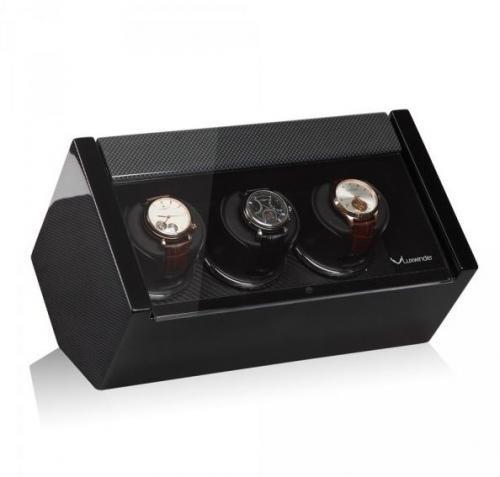 Modalo Natahovač hodinek LUXWINDER CARAT CARBON pro troje hodinky - Modalo Natahovač hodinek LUXWINDER CARAT CARBON pro troje hodinky