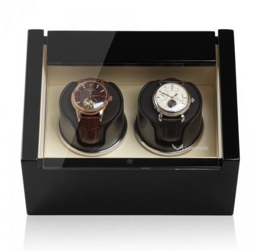 Modalo Natahovač hodinek LUXWINDER CARAT ČERNÁ/BÉŽOVÁ pro dvoje hodinky - Modalo Natahovač hodinek LUXWINDER CARAT ČERNÁ/BÉŽOVÁ pro dvoje hodinky