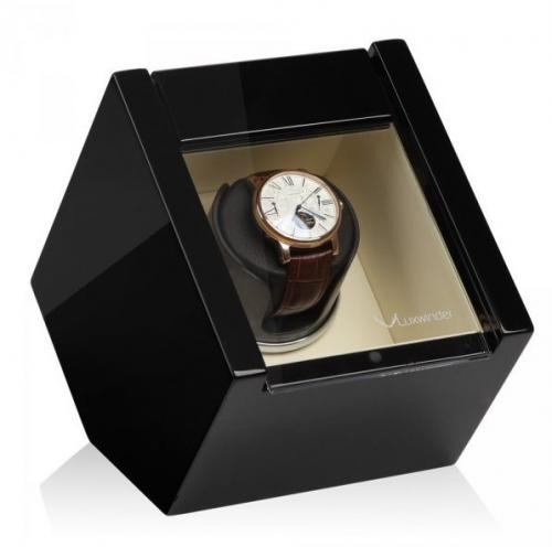Modalo Natahovač hodinek LUXWINDER CARAT ČERNÁ/BÉŽOVÁ pro jedny hodinky - Modalo Natahovač hodinek LUXWINDER CARAT ČERNÁ/BÉŽOVÁ pro jedny hodinky