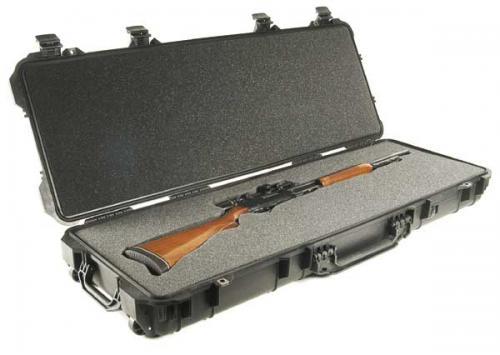 Peli Products, Inc. Odolný vodotěsný kufr Peli Case 1700 na zbraň - Peli Products, Inc. Odolný vodotěsný kufr 1700 na zbraň, černý s pěnou