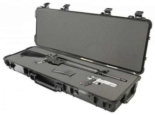 Peli Products, Inc. Odolný vodotěsný kufr Peli Case 1720 na zbraň - Peli Products, Inc. Odolný vodotěsný kufr 1720 na zbraň, černý prázdný