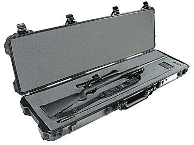 Peli Products, Inc. Odolný vodotěsný kufr Peli Case 1750 na zbraň - Peli Products, Inc. Odolný vodotěsný kufr 1750 na zbraň, černý prázdný
