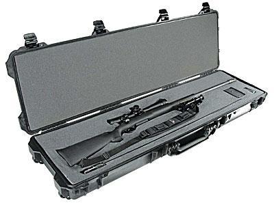 Peli Products, Inc. Odolný vodotěsný kufr Peli Case 1750 na zbraň - Peli Products, Inc. Odolný vodotěsný kufr 1750 na zbraň, černý s pěnou