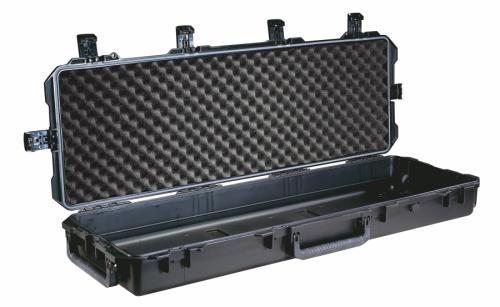 Peli Products, Inc. Odolný vodotěsný kufr Storm Case iM3200 na zbraň - Peli Products, Inc. Odolný vodotěsný kufr Storm Case iM3200 na zbraň, černý s pěnou a taškou