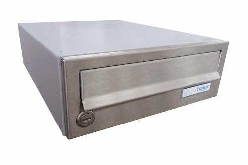 DOLS Poštovní schránka B-01 - NEREZ + RAL 7040 - DOLS Poštovní schránka B-01 NEREZ + RAL 7040