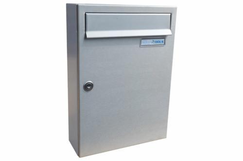 DOLS Poštovní schránka C-01 - NEREZ + RAL 7040 - DOLS Poštovní schránka C-01 NEREZ + RAL 7040
