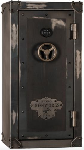Rhino Safe Rhino Ironworks CIWD series CIWD6030X - Rhino Safe Trezor na zbraně Rhino Ironworks CIWD series CIWD6030X, 75min