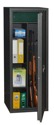 Safetronics Trezor na zbraně IVETA 5 PME/K - Safetronics Kombinovaný skříňový trezor na tři zbraně IVETA 5 PME/K