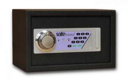 Safetronics Nábytkový sejf HTL 20 LE - Safetronics Nábytkový sejf HTL 20 LE, černý