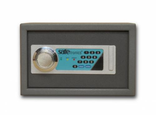 Safetronics Nábytkový sejf HTL 20 LE - Safetronics Nábytkový sejf HTL 20 LE, šedý