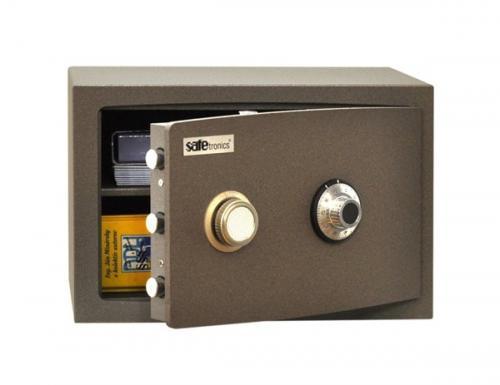 Safetronics Nábytkový trezor NTR/13-24 LG - Safetronics Nábytkový trezor NTR/13-24 LG
