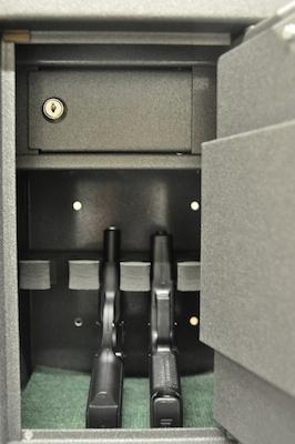 Safetronics Sejf na krátké zbraně MINI 4 - Safetronics Sejf MINI 4