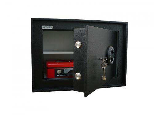 Safmetal STĚNOVÝ TREZOR SAF 022 S - Safmetal Trezor do zdi SAF 022 S KL, černá