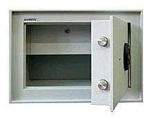 Safmetal STĚNOVÝ TREZOR SAF 022 SS - Safmetal Trezor do zdi SAF 022 SS KL-MC, šedá