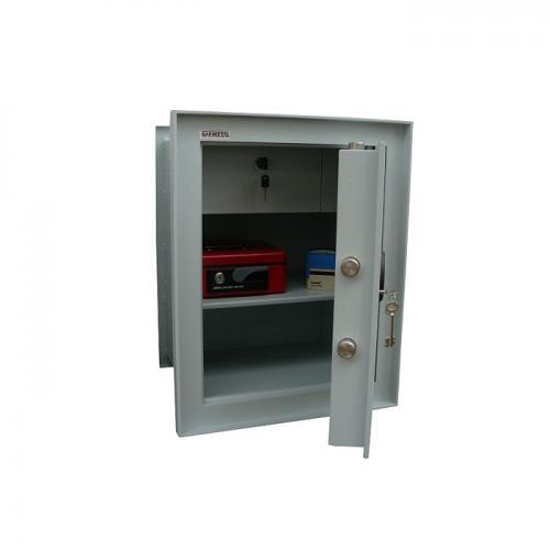 Safmetal STĚNOVÝ TREZOR SAF 022 SV - Safmetal Trezor do zdi SAF 022 SV KL-MC, šedá