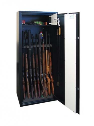 T-SAFE Skříň na zbraně SZ 3 M - T-SAFE Skříň na deset zbraní SZ 3 M